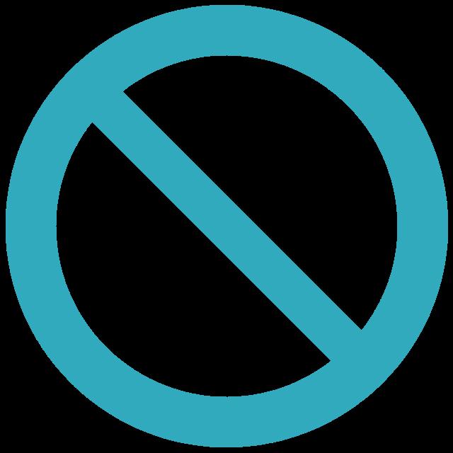 Icône annulation