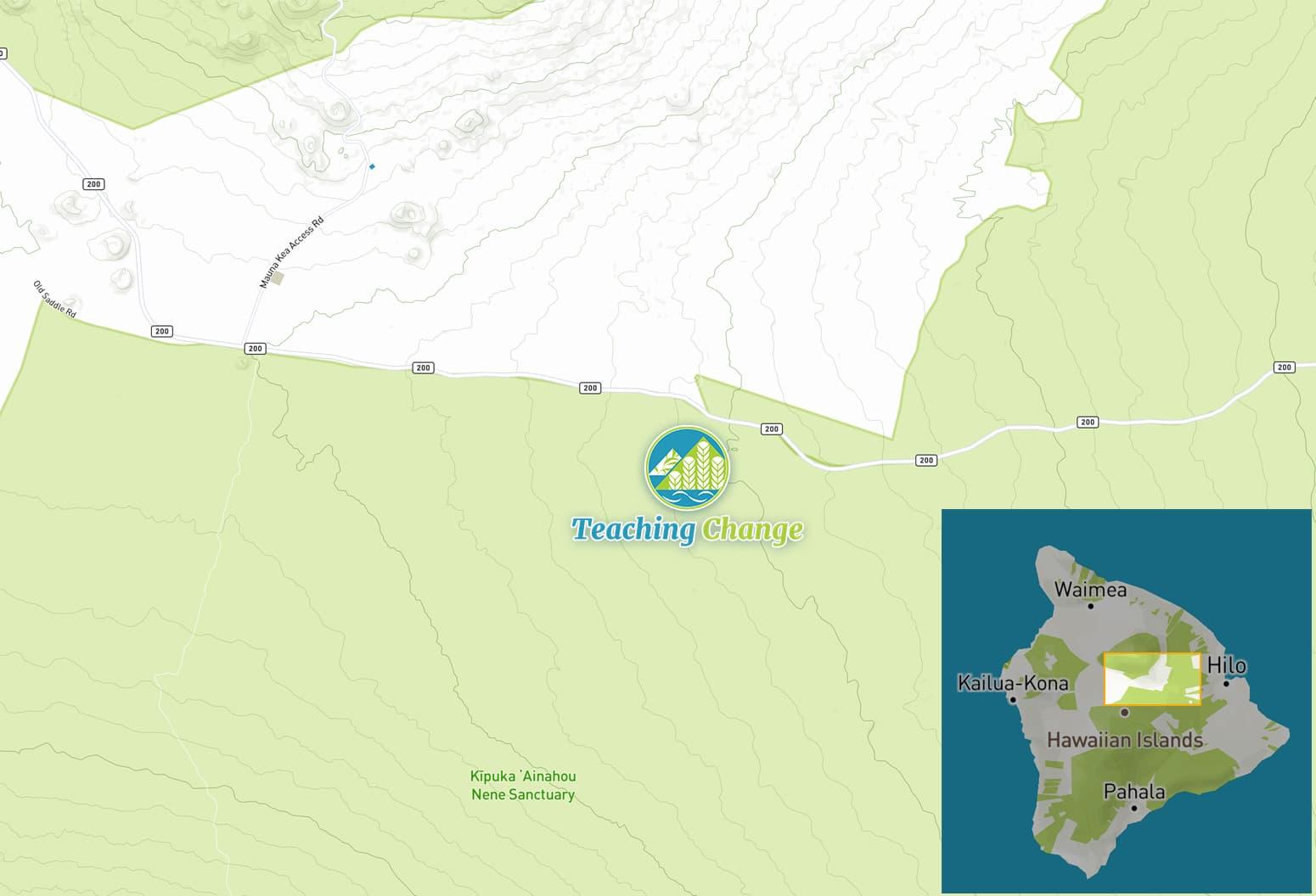 Kipuka map