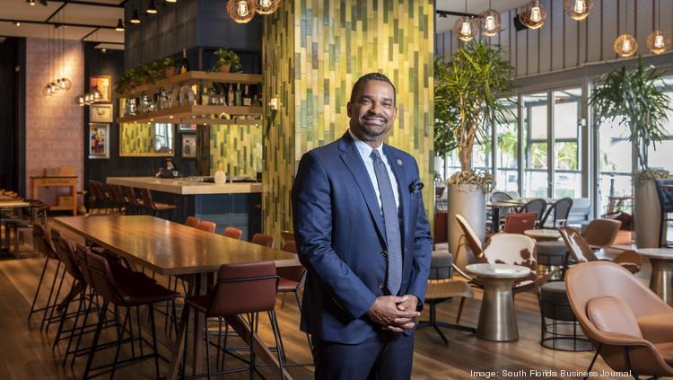 CGI Merchant Group founder Raoul Thomas at the Gabriel Miami.