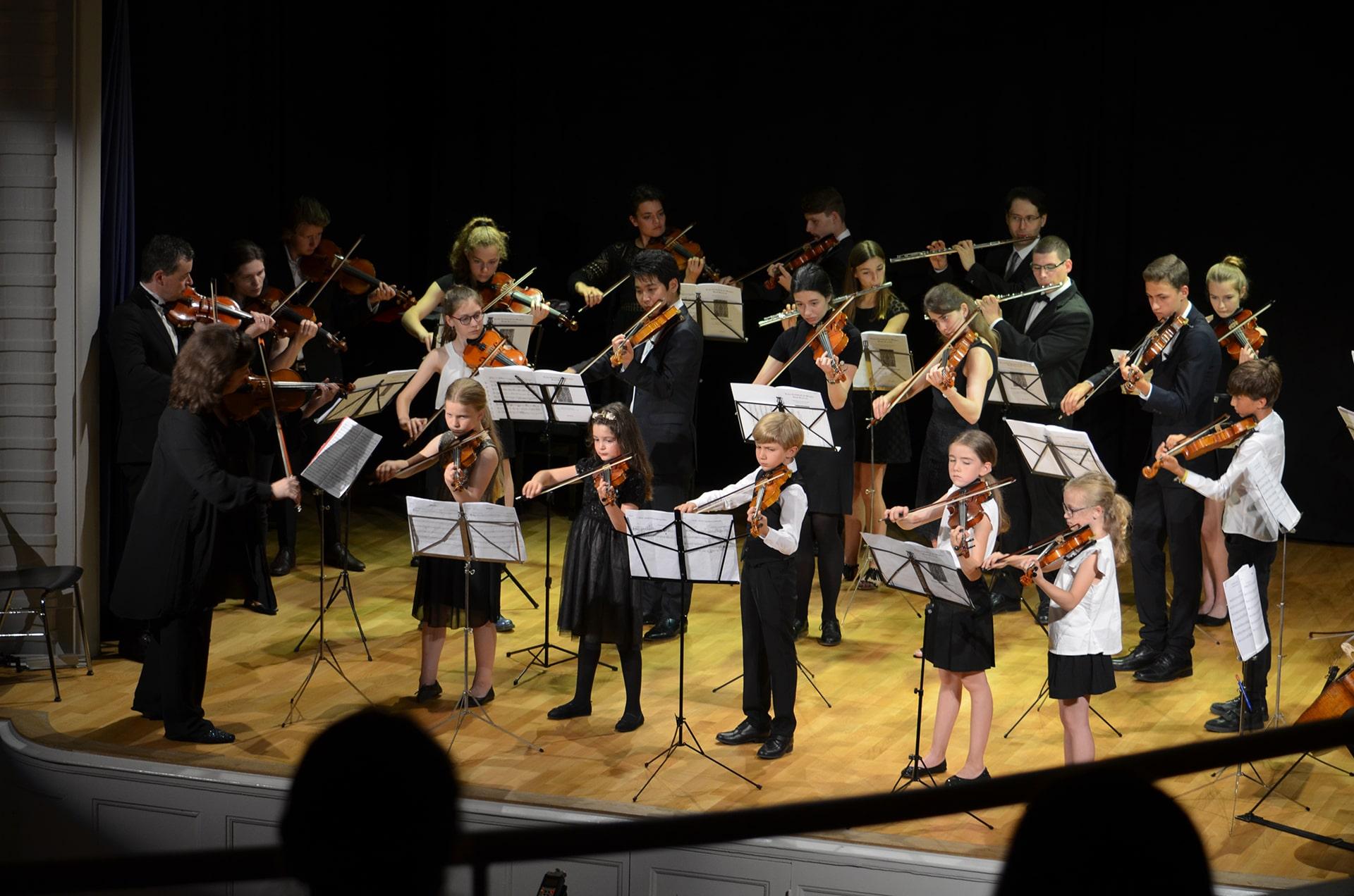 L'Ensemble des Jeunes Musiciens - Le Printemps du Violon - Centre de Musique Kayaleh