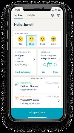 Mobile app for patients
