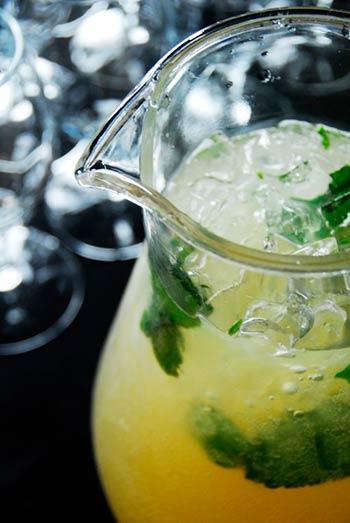 Gingerbeer cocktail