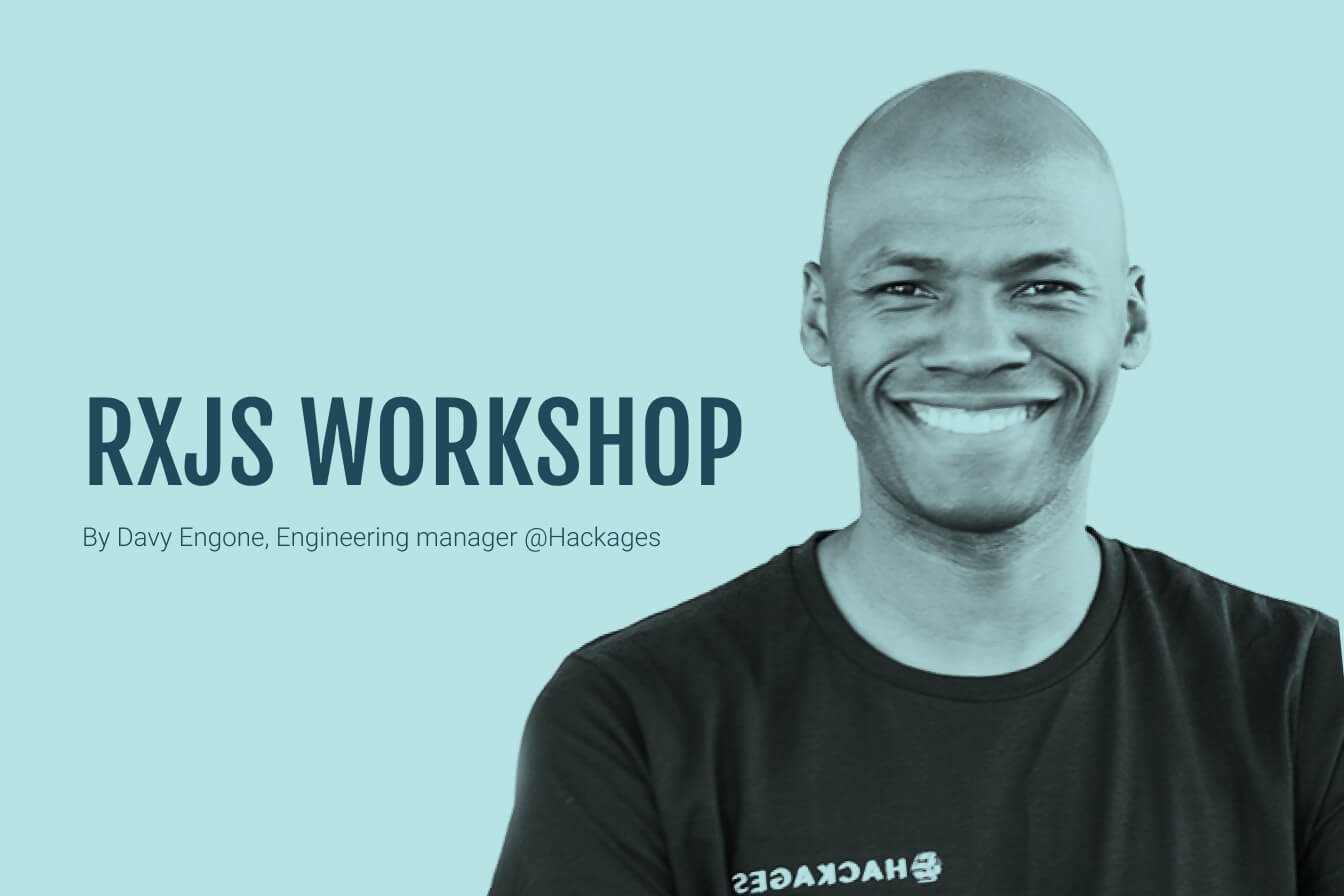 You'll get to build a simple application that uses RxJS. After this session, RxJS will look different to you.
