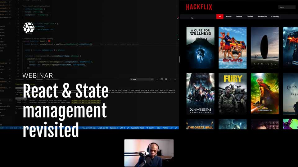 React & State management revisited | Hacklunch