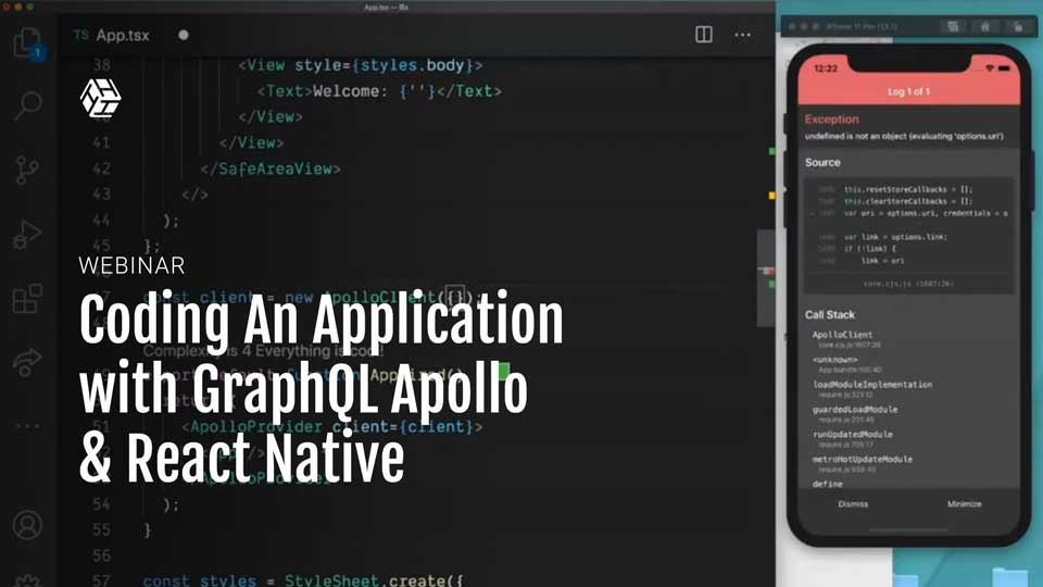 Live Coding An Application with GraphQL Apollo & React Native | HackLunch