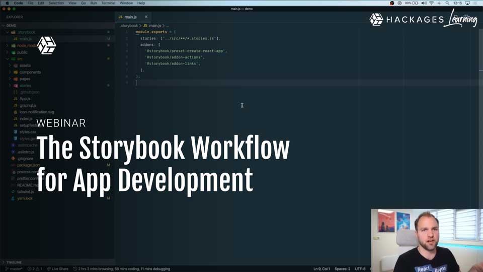 The Storybook Workflow for App Development | HackLunch