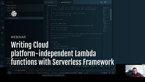 Writing cloud platform independent Lambda functions with Serverless Framework