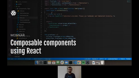 Composable components using React Context