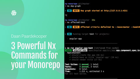 Have you heard about Monorepo's and Nx? This video will teach you 3 cool tips you can do with them.