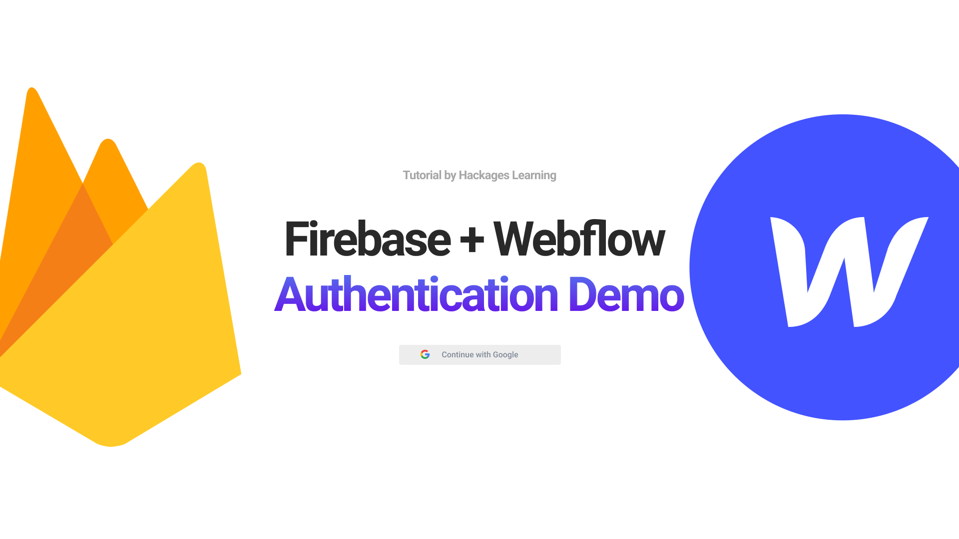 How to add Firebase authentication to your Webflow website