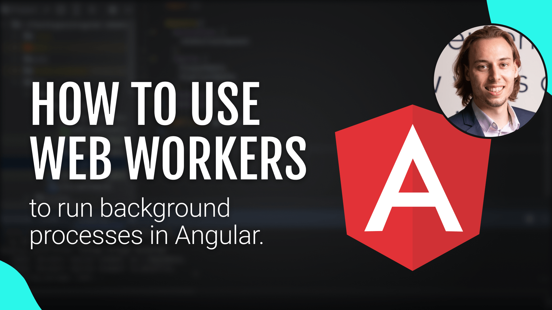 How to use Web Workers in Angular