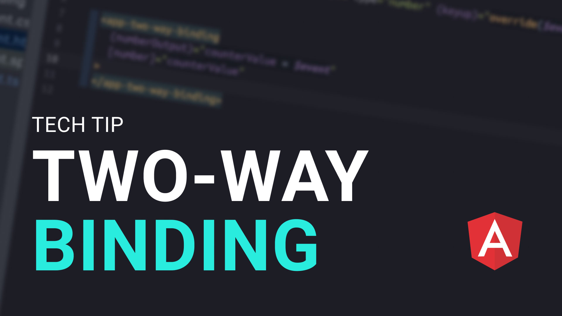 How to create your own two-way data bindings with custom components in Angular