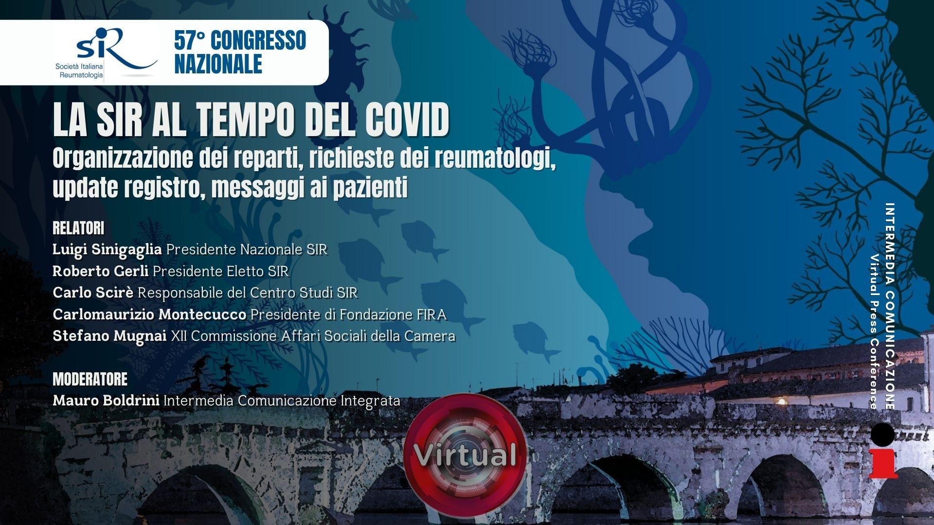 57° Congresso Nazionale SIR - La SIR al tempo del Covid