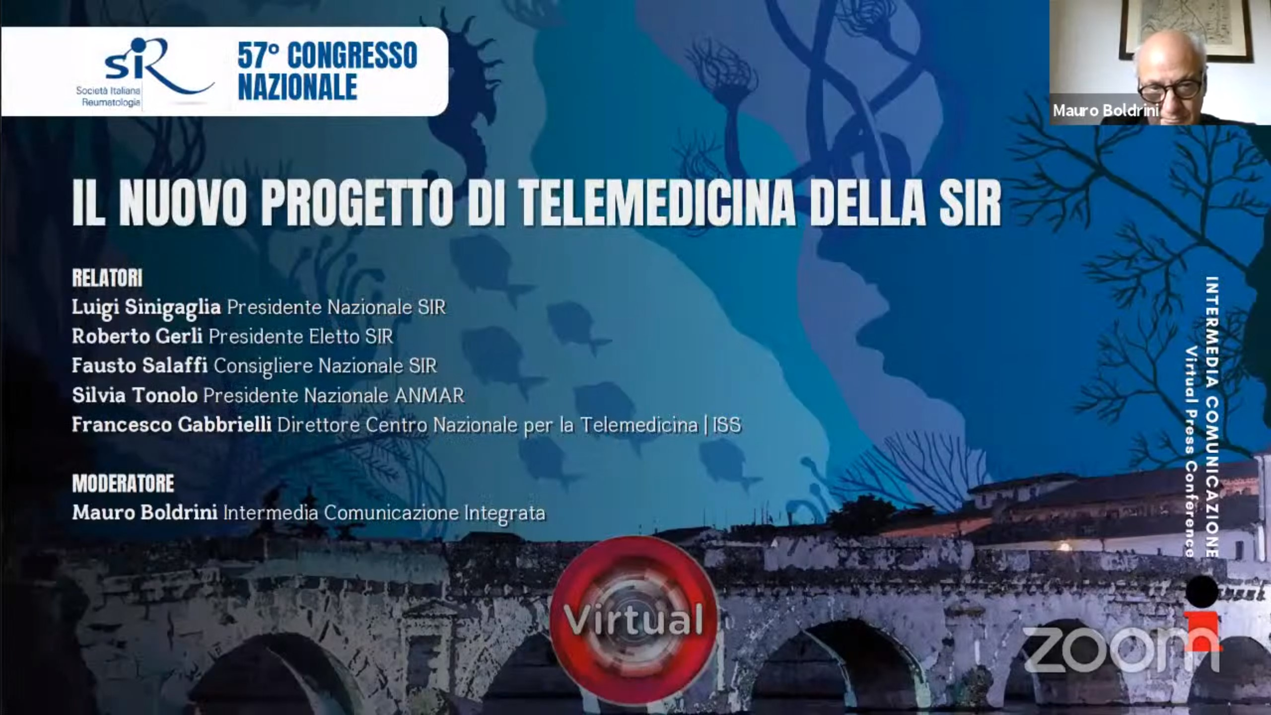 57° Congresso Nazionale SIR - Il nuovo progetto di telemedicina della SIR