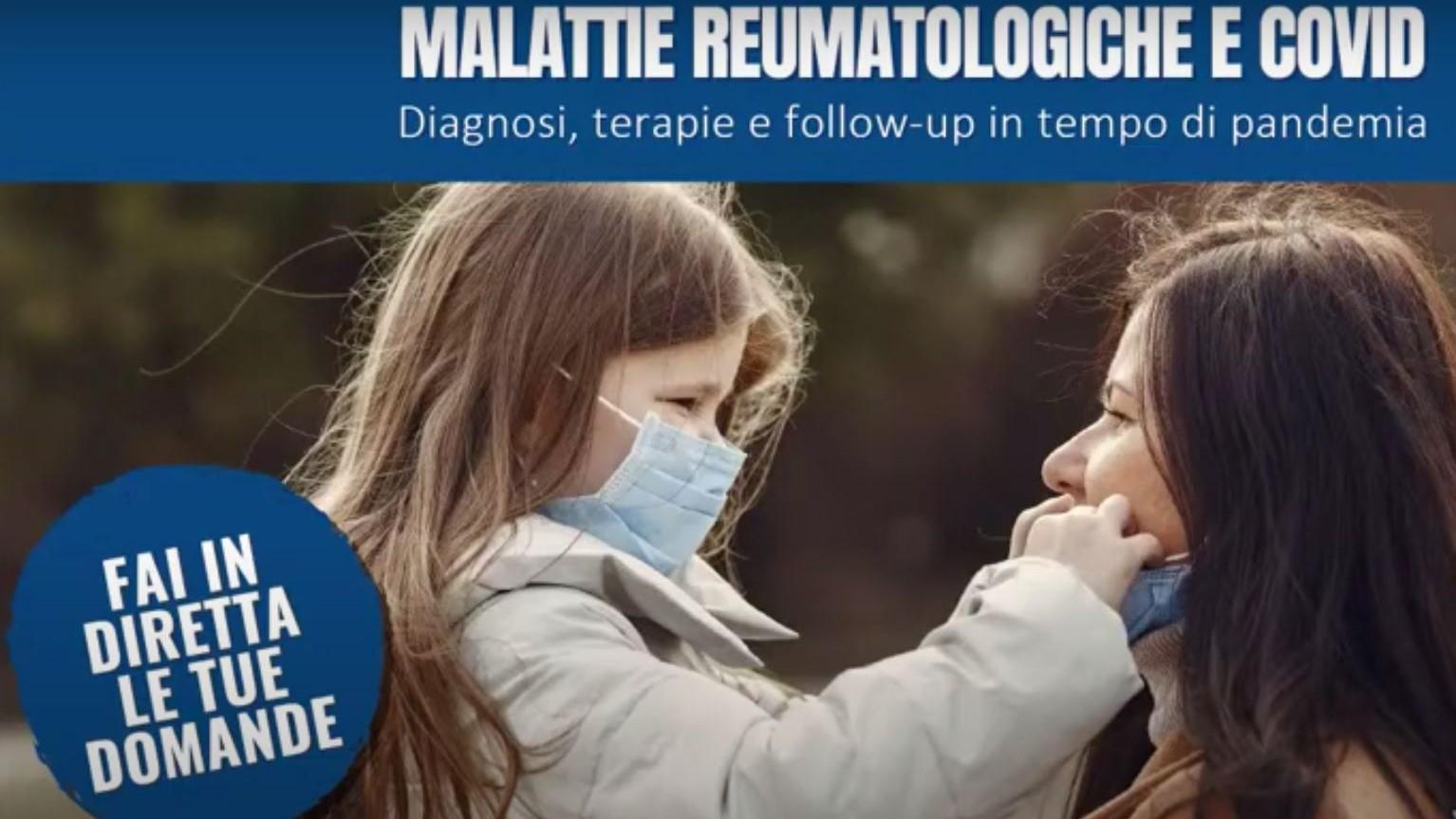 Malattie reumatologiche e covid: diagnosi, terapie e follow up il tempo di pandemia