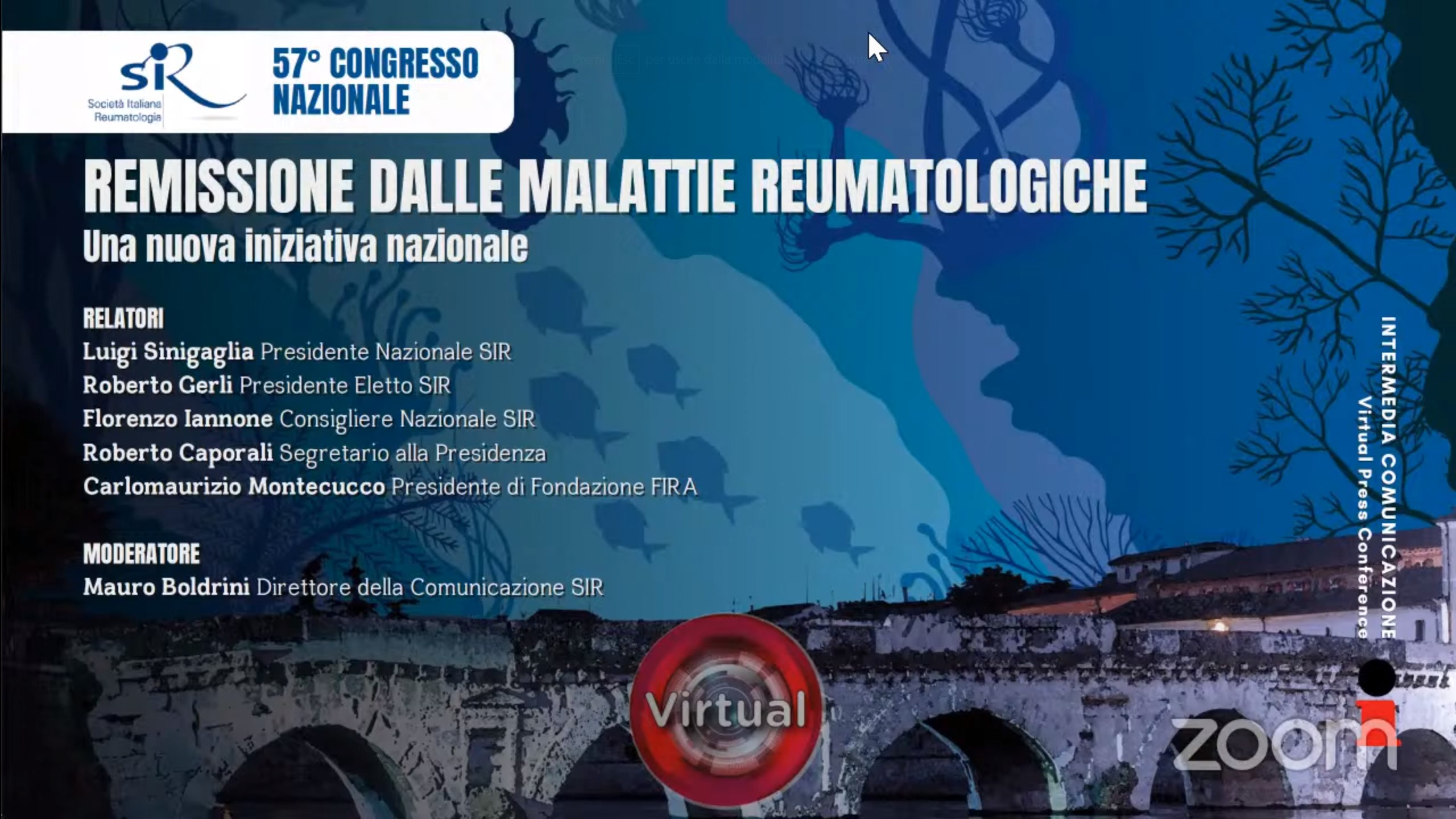 57° Congresso Nazionale SIR - Remissione dalle malattie reumatologiche