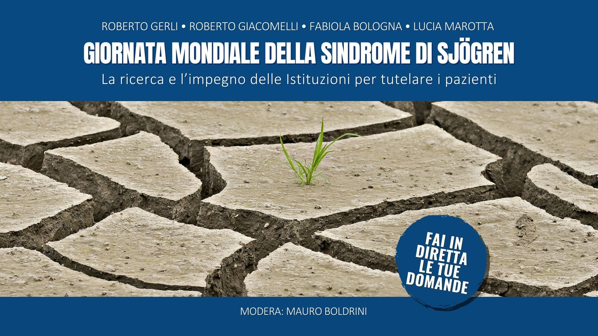 Giornata Mondiale della Sindrome di Sjögren