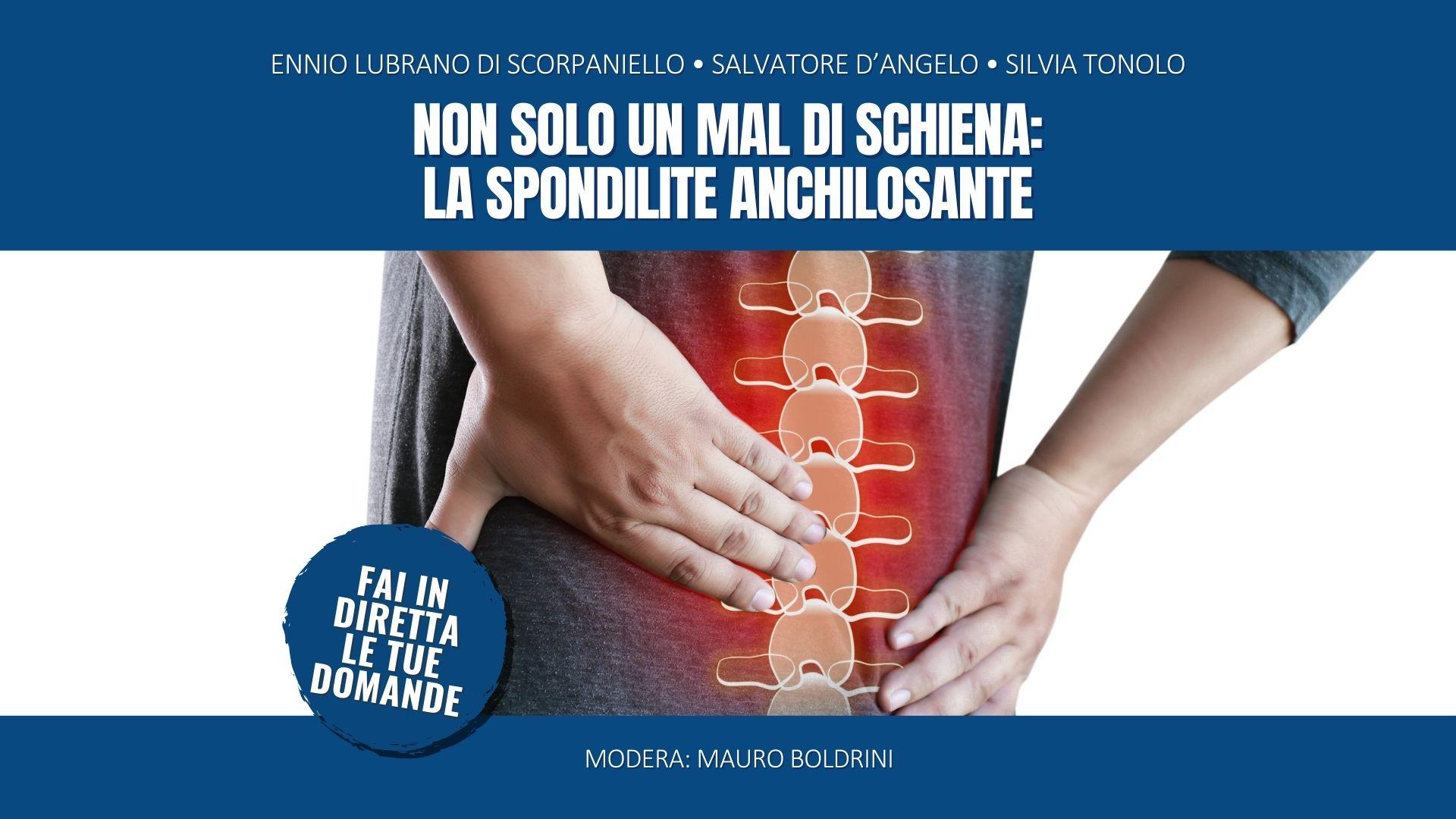 Non solo un mal di schiena: la spondilite anchilosante