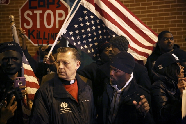 Michael Pfleger and holy man Jedidiah Brown