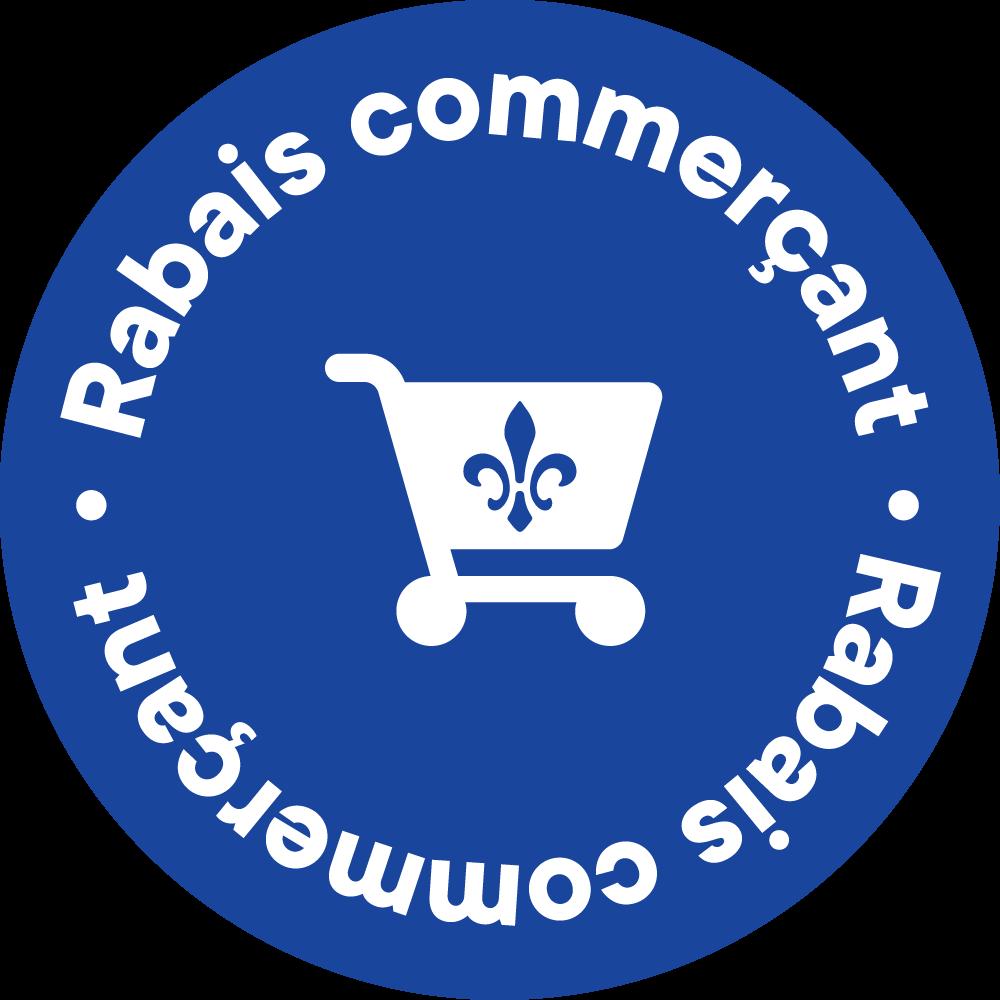Rabais commerçant Panier Bleu