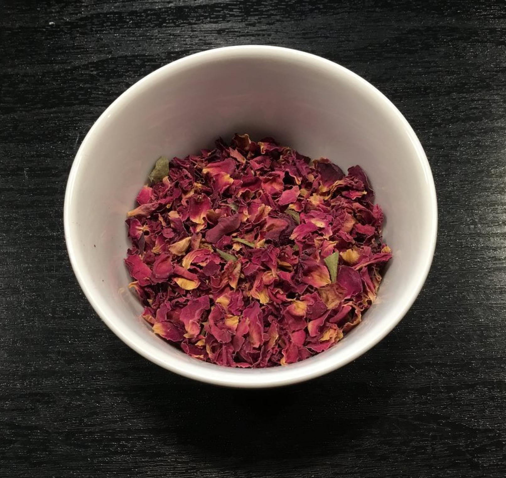 Tisane à la rose, La maison des 100 thés