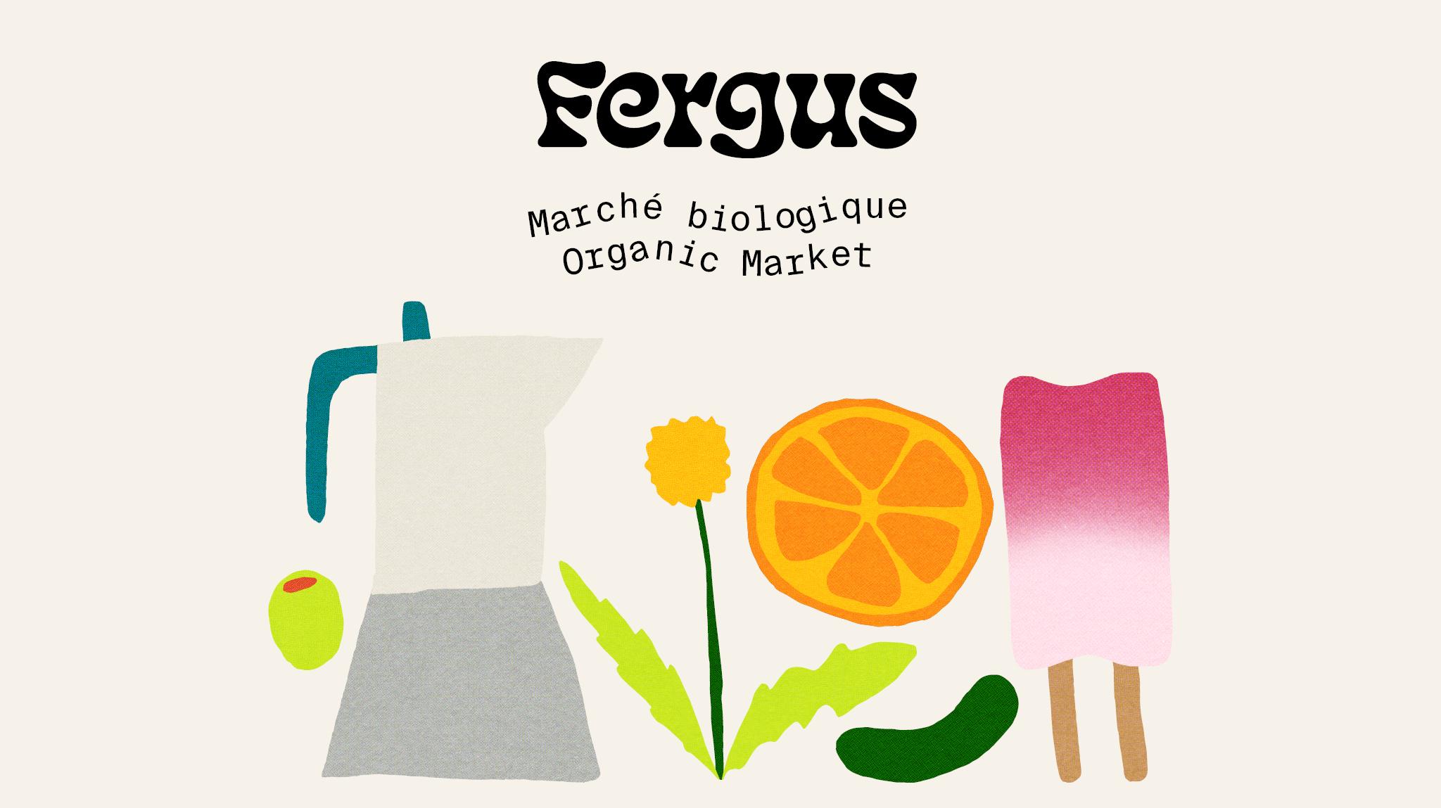 Fergus marché biologique