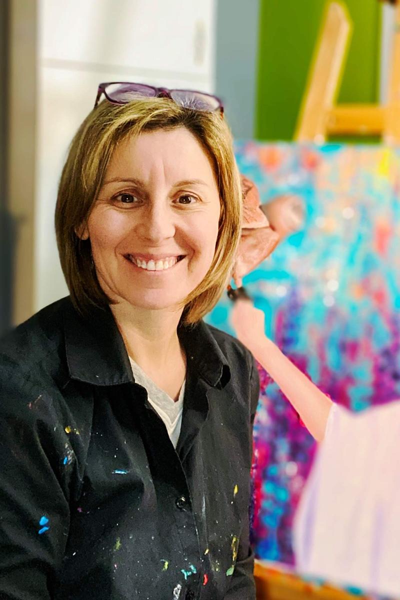 Karine Sirois,Artiste-peintre
