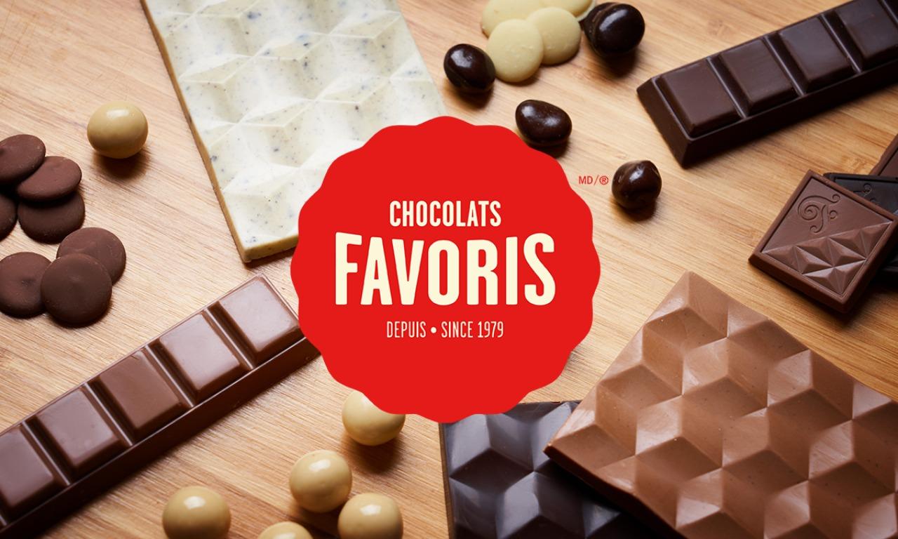 Logo de Chocolats Favoris pour Le Panier Bleu