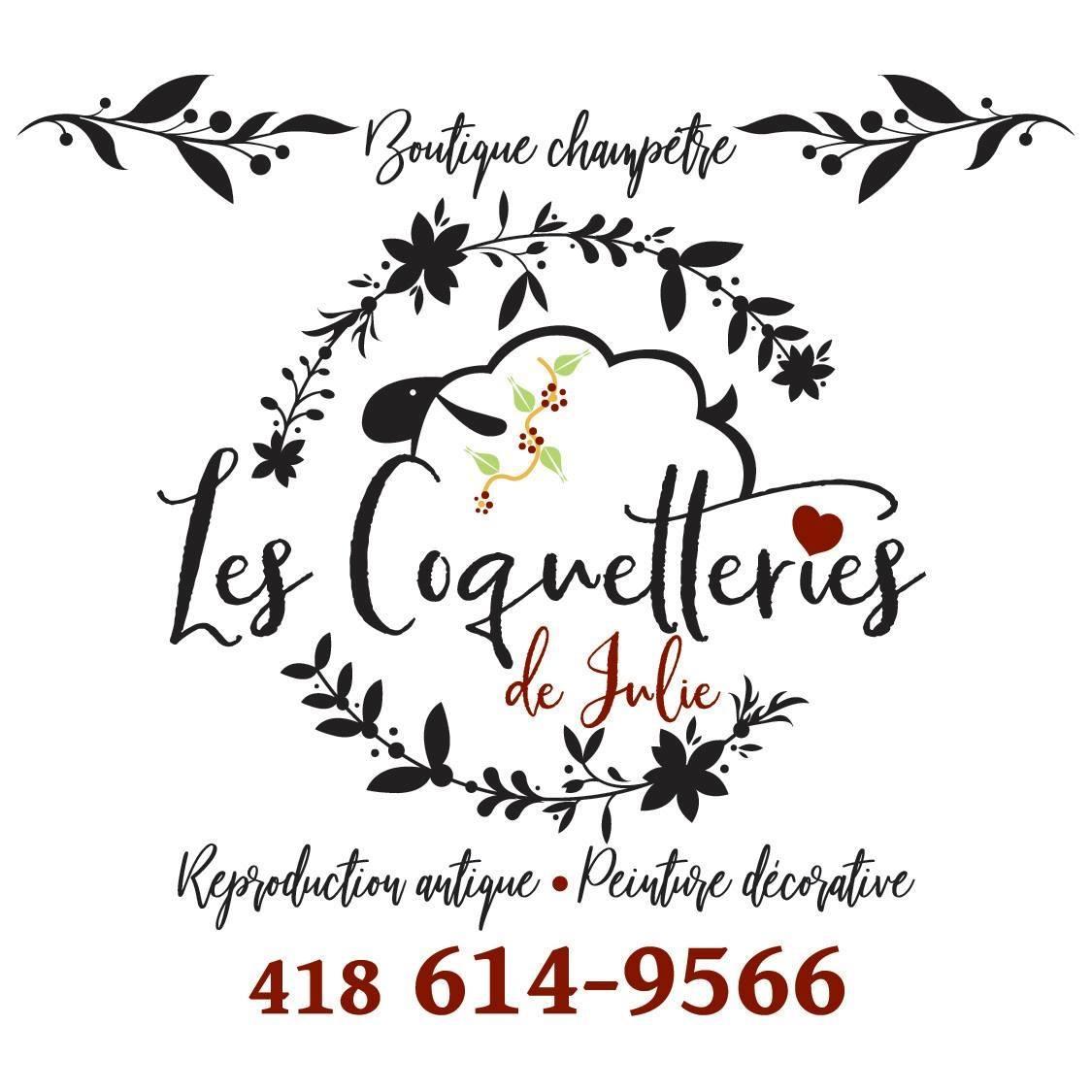 Logo de Les Coquetteries de Julie pour Le Panier Bleu