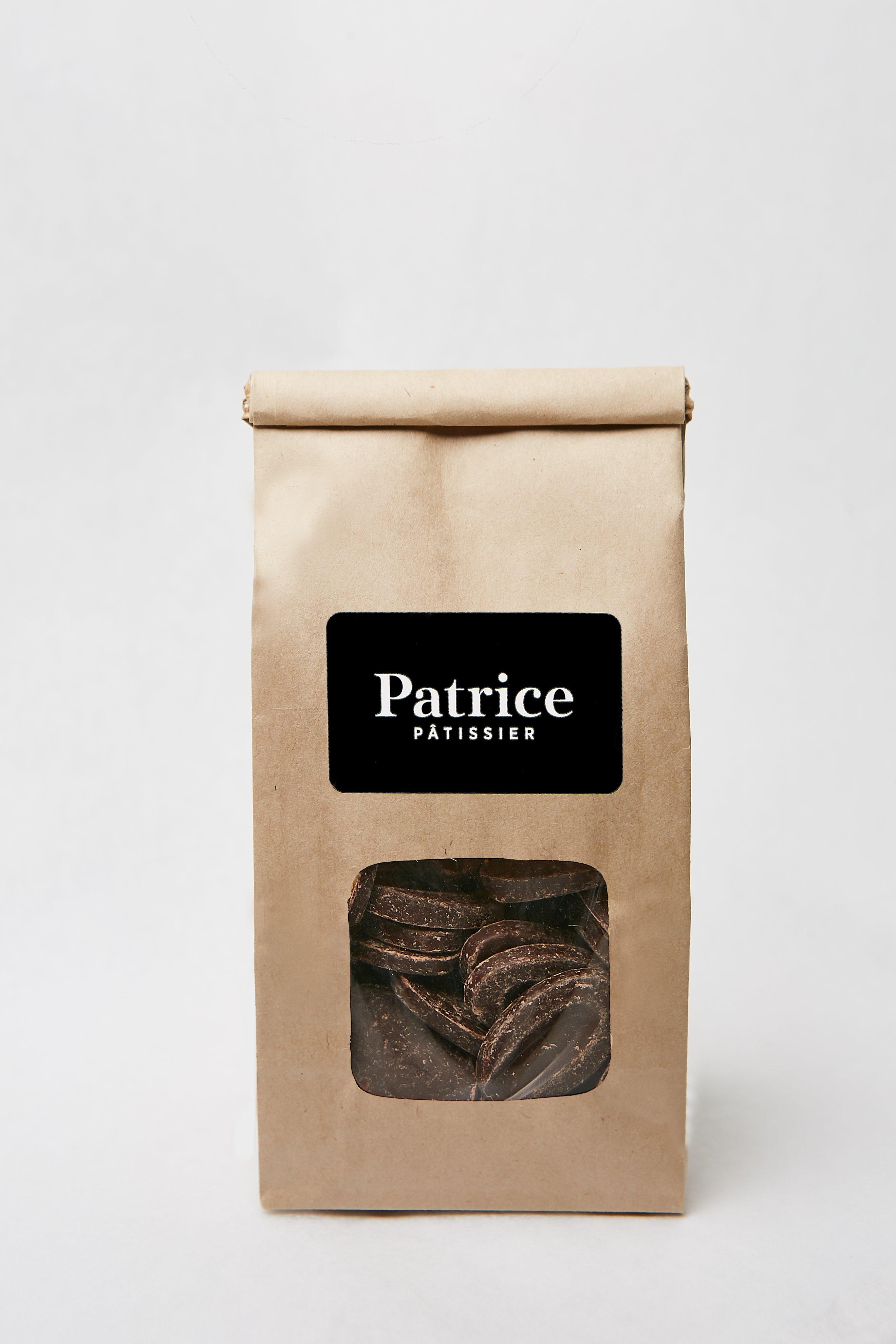 Paquet de Chocolat noir Tropilia de Patrice Pâtissier