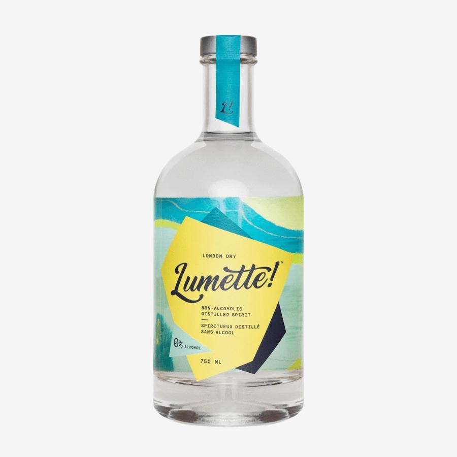 Bouteille de Spiritueux distillé SANS ALCOOL 'London Dry' de Bref MTL