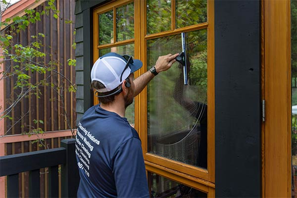 Post construction cleaning in the Cowichan Valley