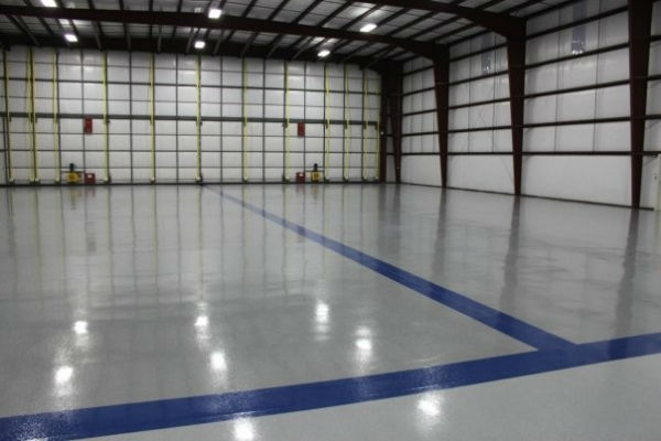 signature floor polished concrete