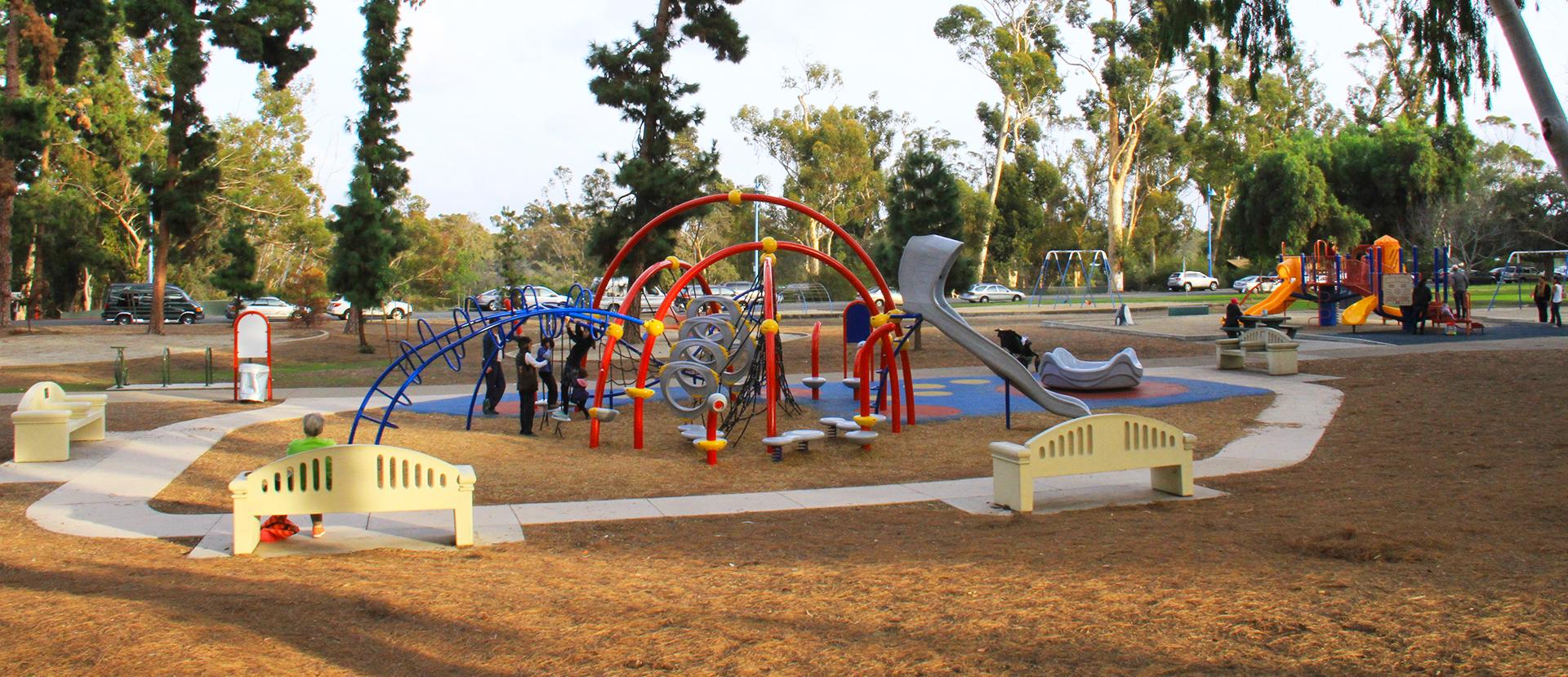 Parks in Balboa Park