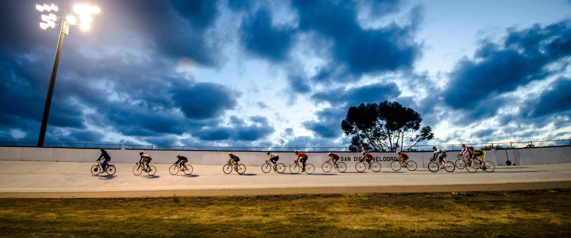 Bikes in Balboa Park