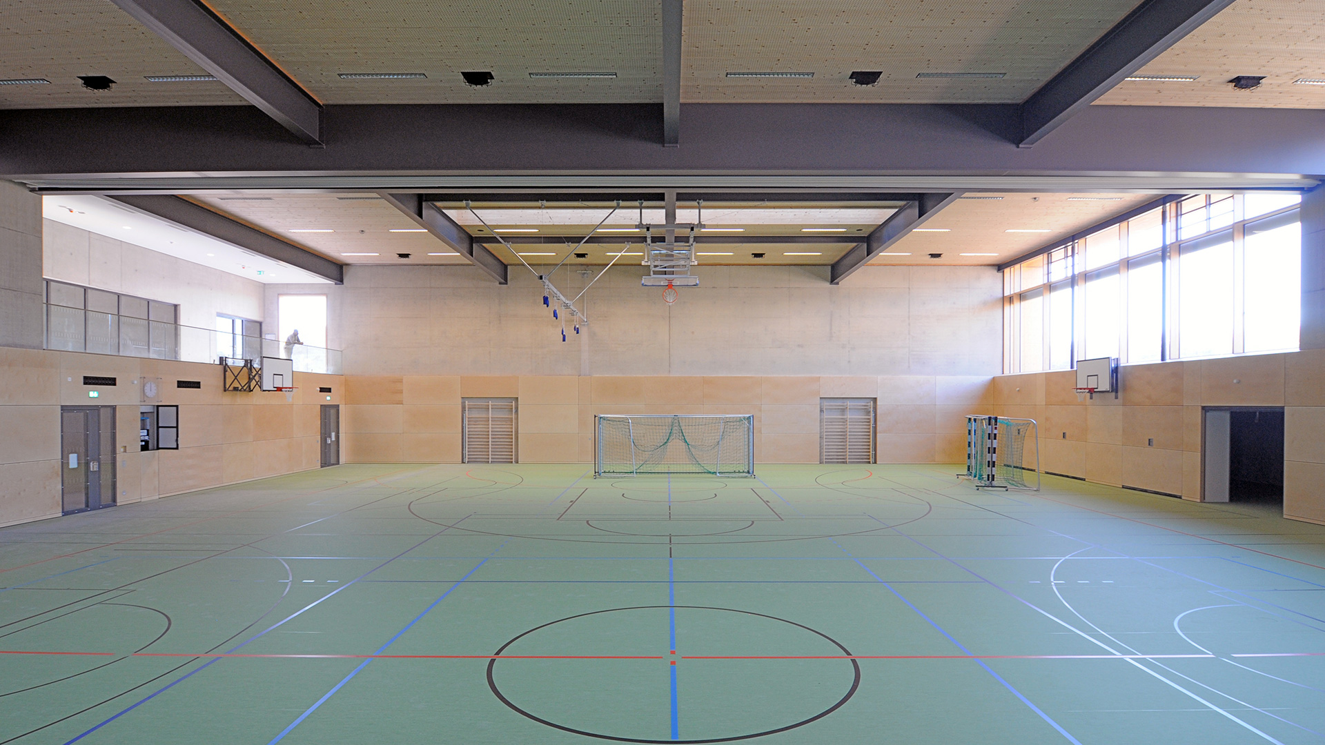 Unterhaching Sporthalle