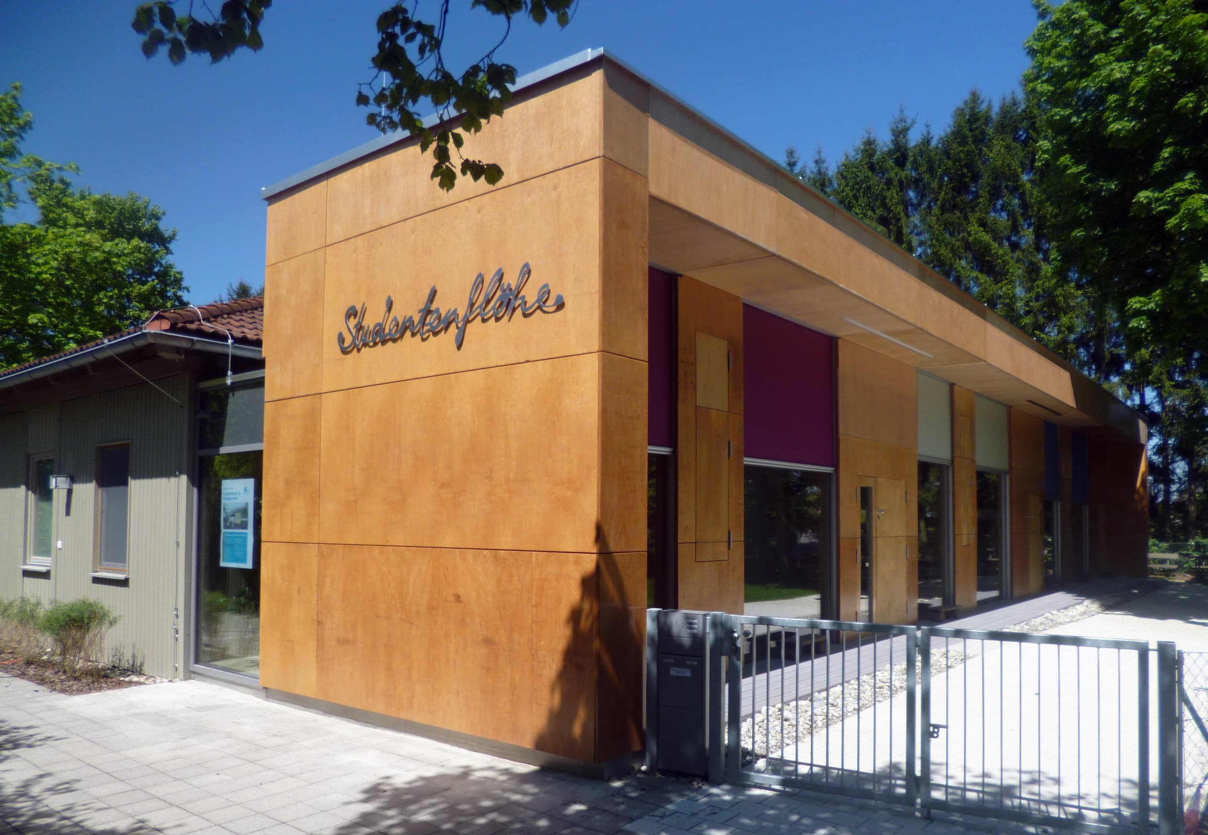 Kinderkrippe Studentenflöhe Rosenheim Aussen