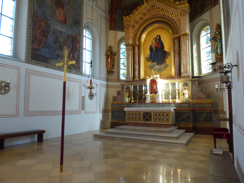 Pfarrkirche Mariä Himmelfahrt Pang Altar