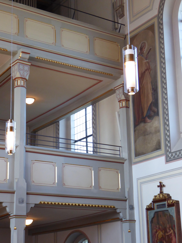 Pfarrkirche Mariä Himmelfahrt Pang Empore