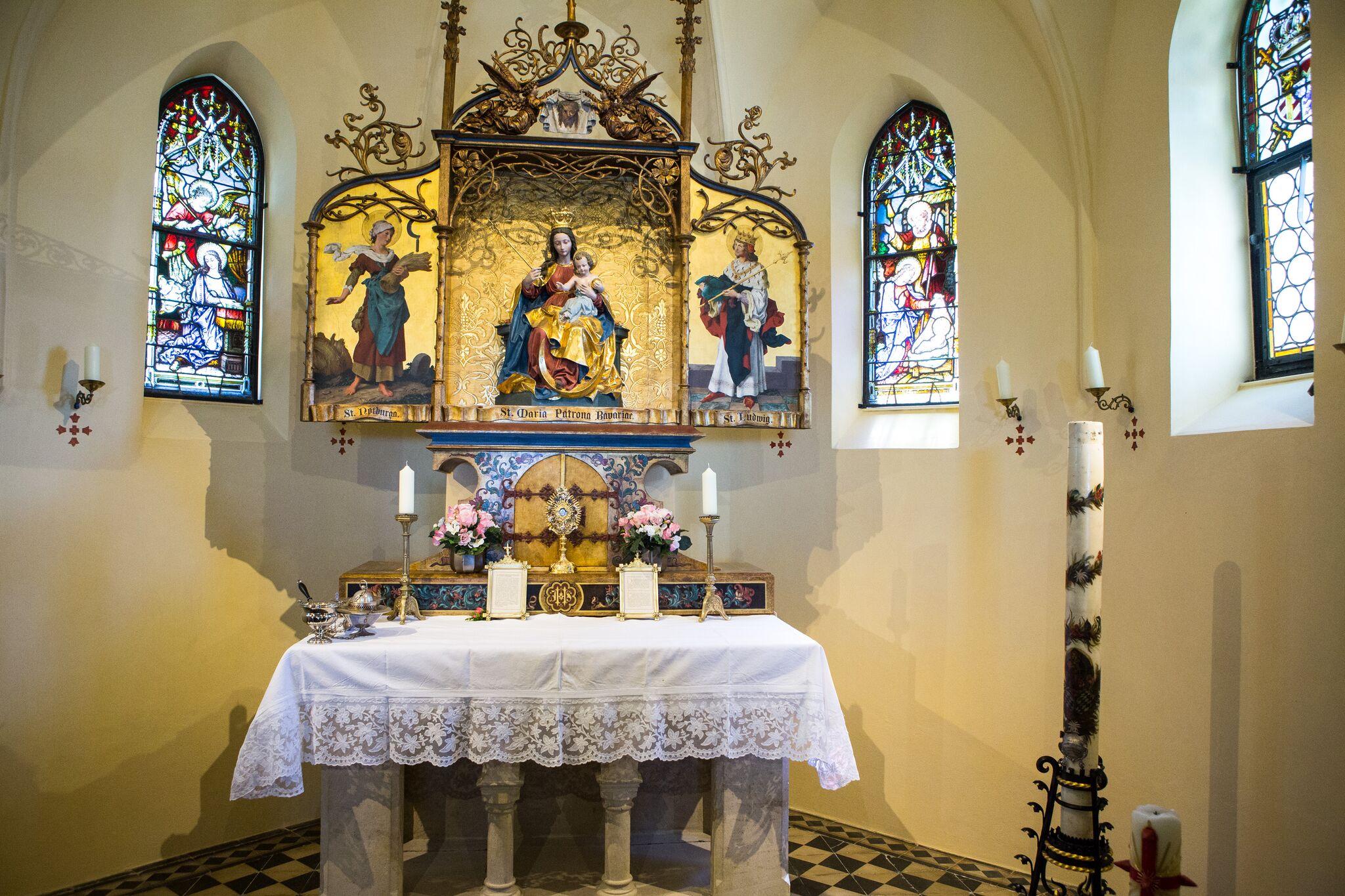 Wendelsteinkirche Brannenburg Altar