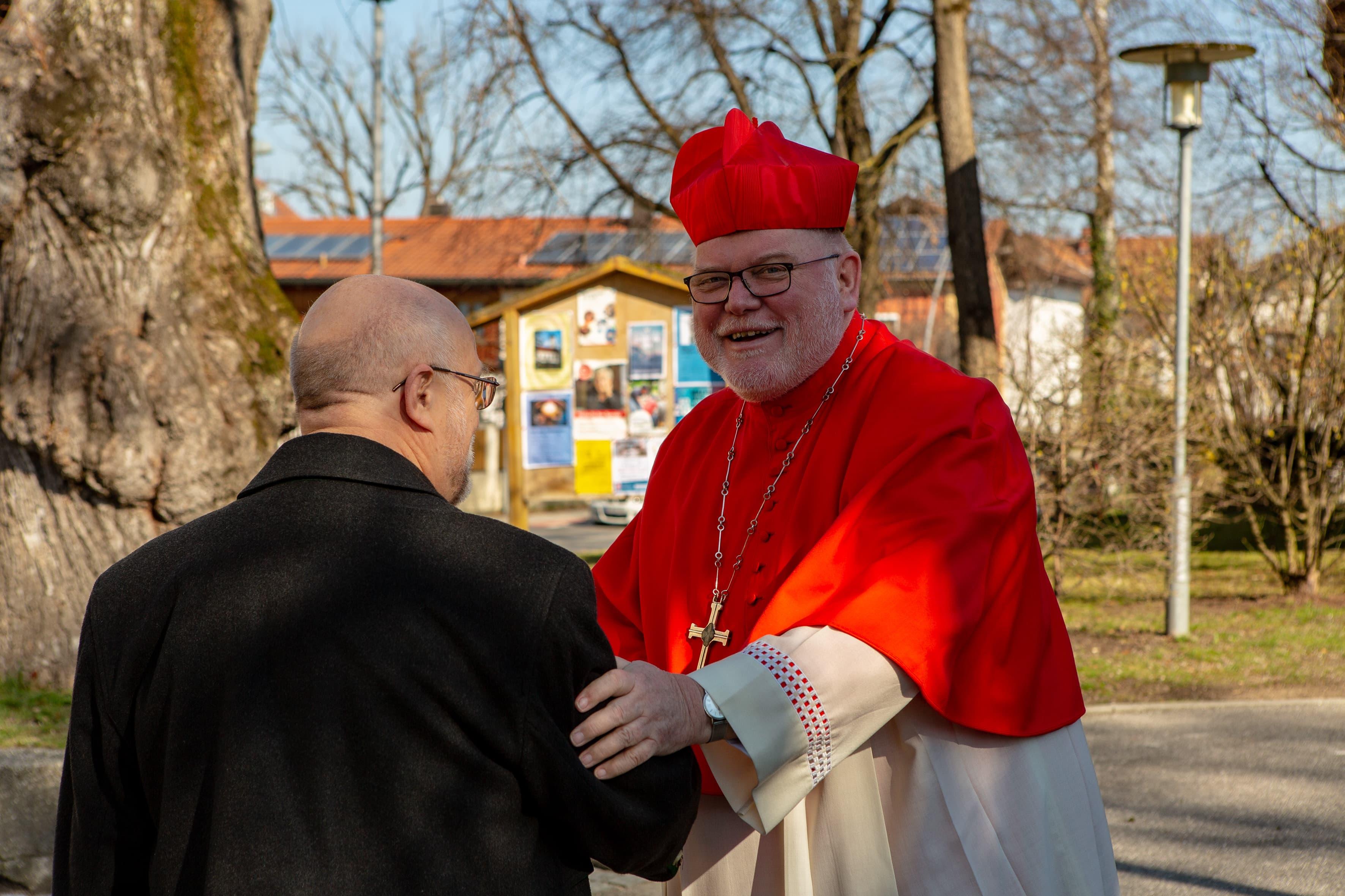 Pfarrkirche Mariä Himmelfahrt Bad Aibling Bischof Marx