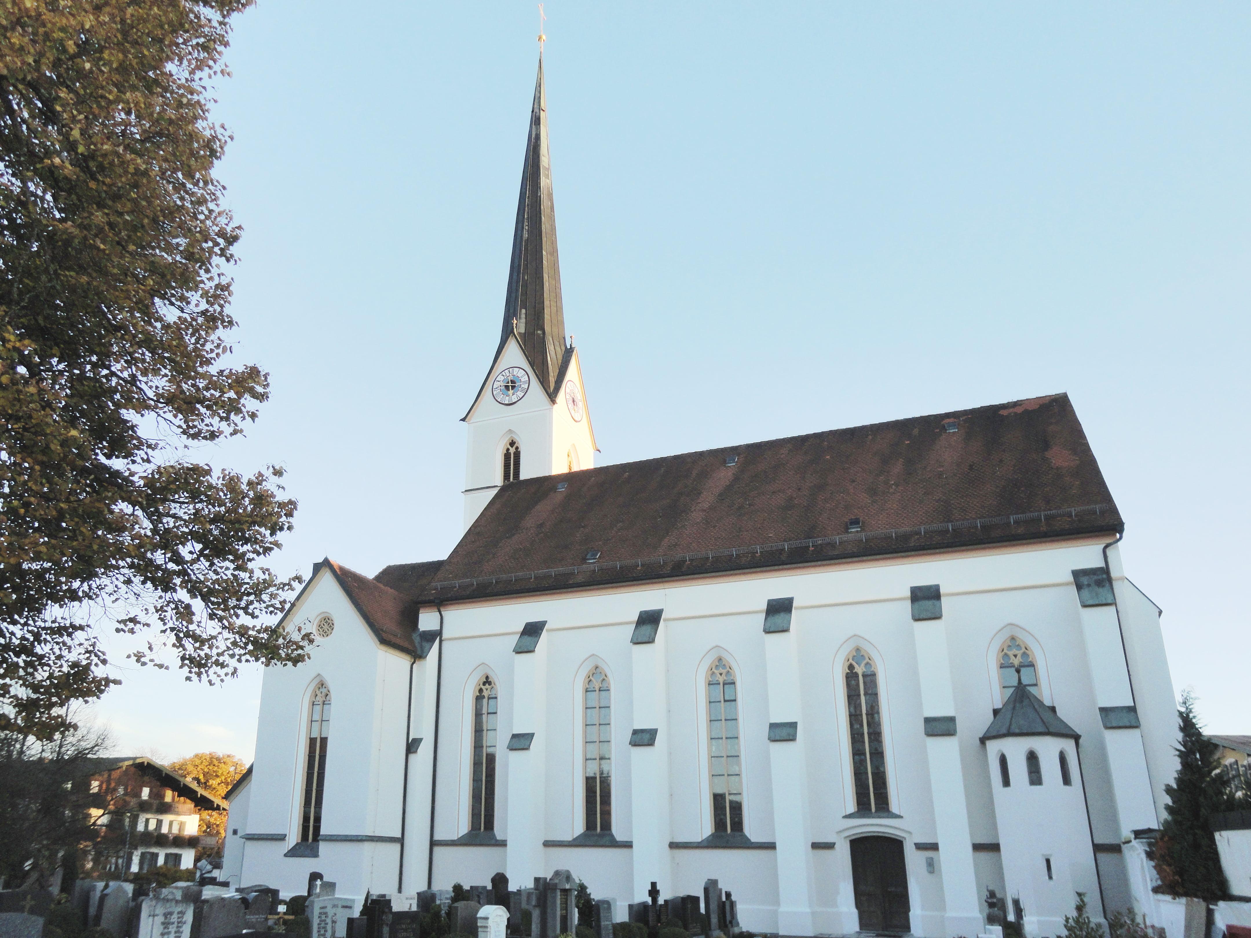 Pfarrkirche St. Georg Eggstätt Aussen