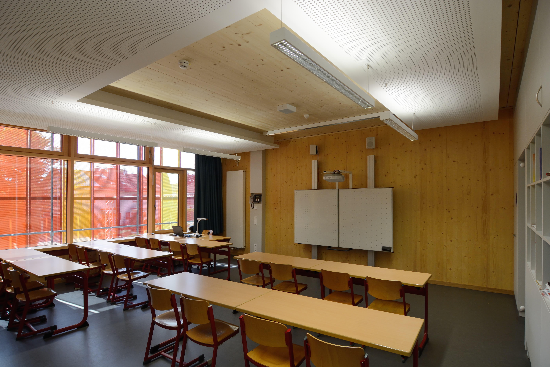 Dr. Wintrich Realschulle Ebersberg Klassenzimmer