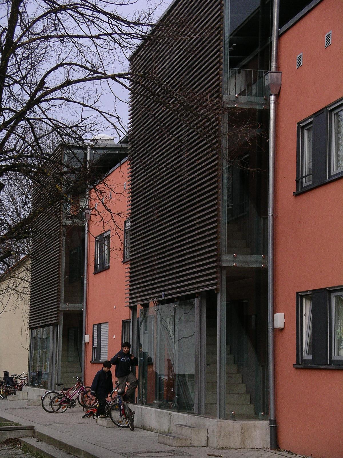 Wohnanlage GRWS Rosenheim Aussen