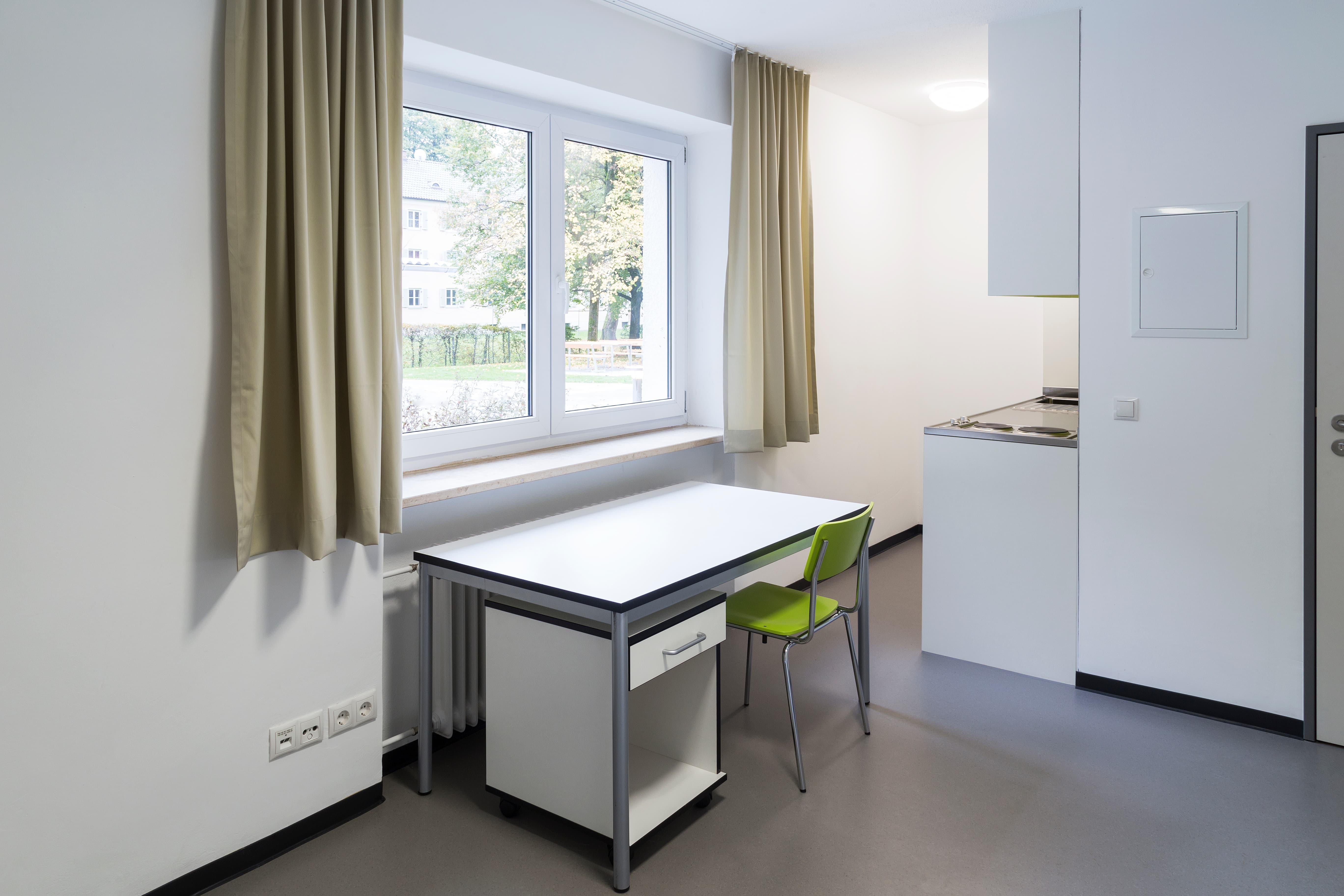 Wohnheim Marienbergerstrasse Rosenheim Zimmer