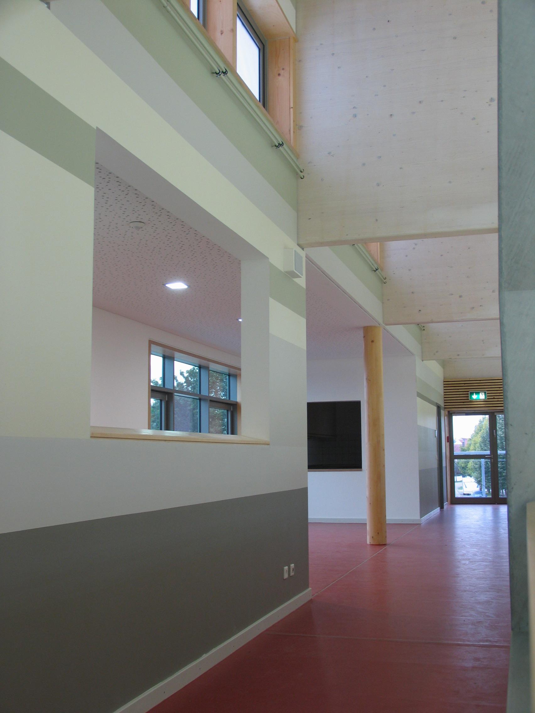 3-fach Sporthalle Manching Farbgestaltung
