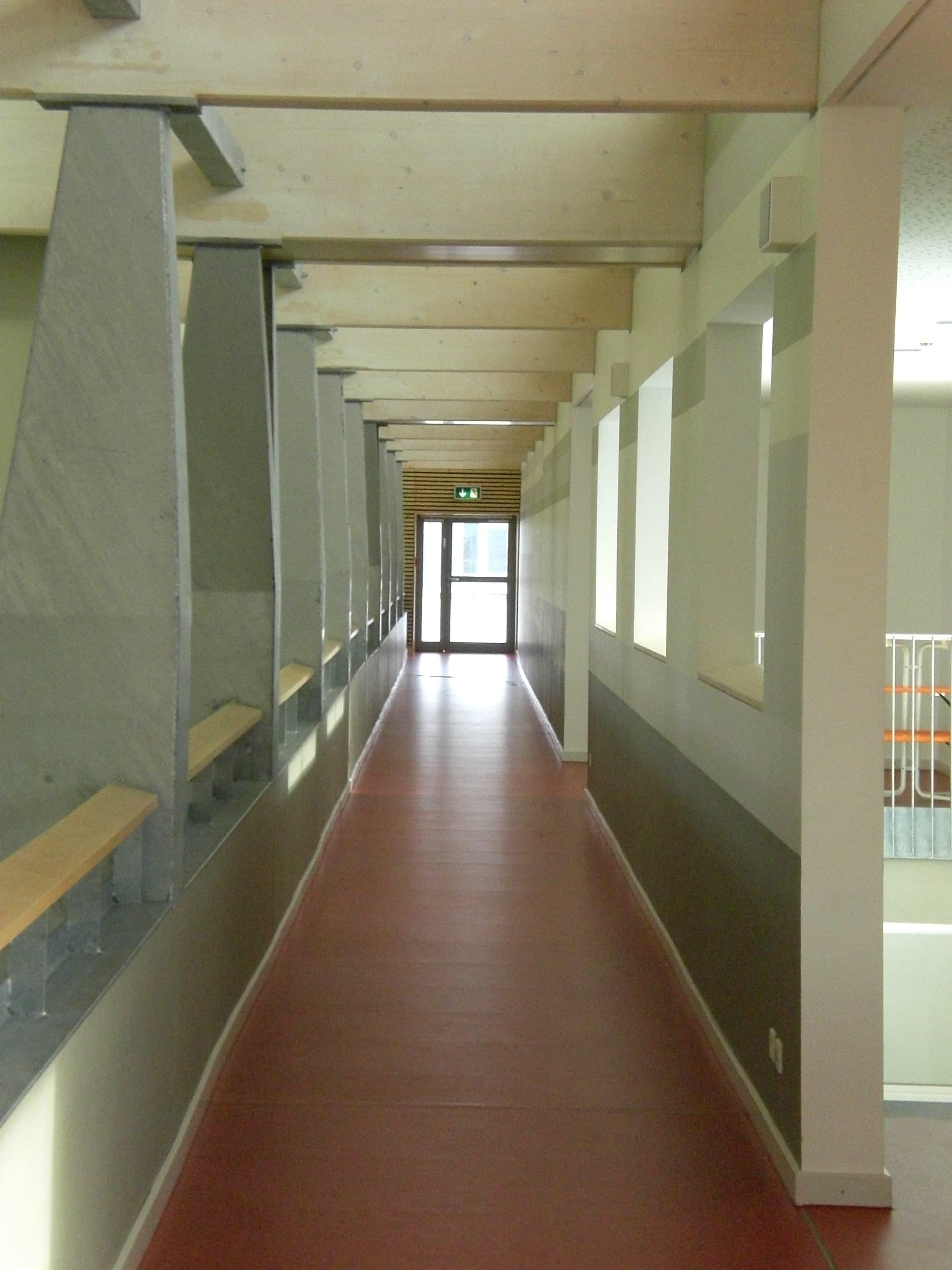 3-fach Sporthalle Manching Tribühne