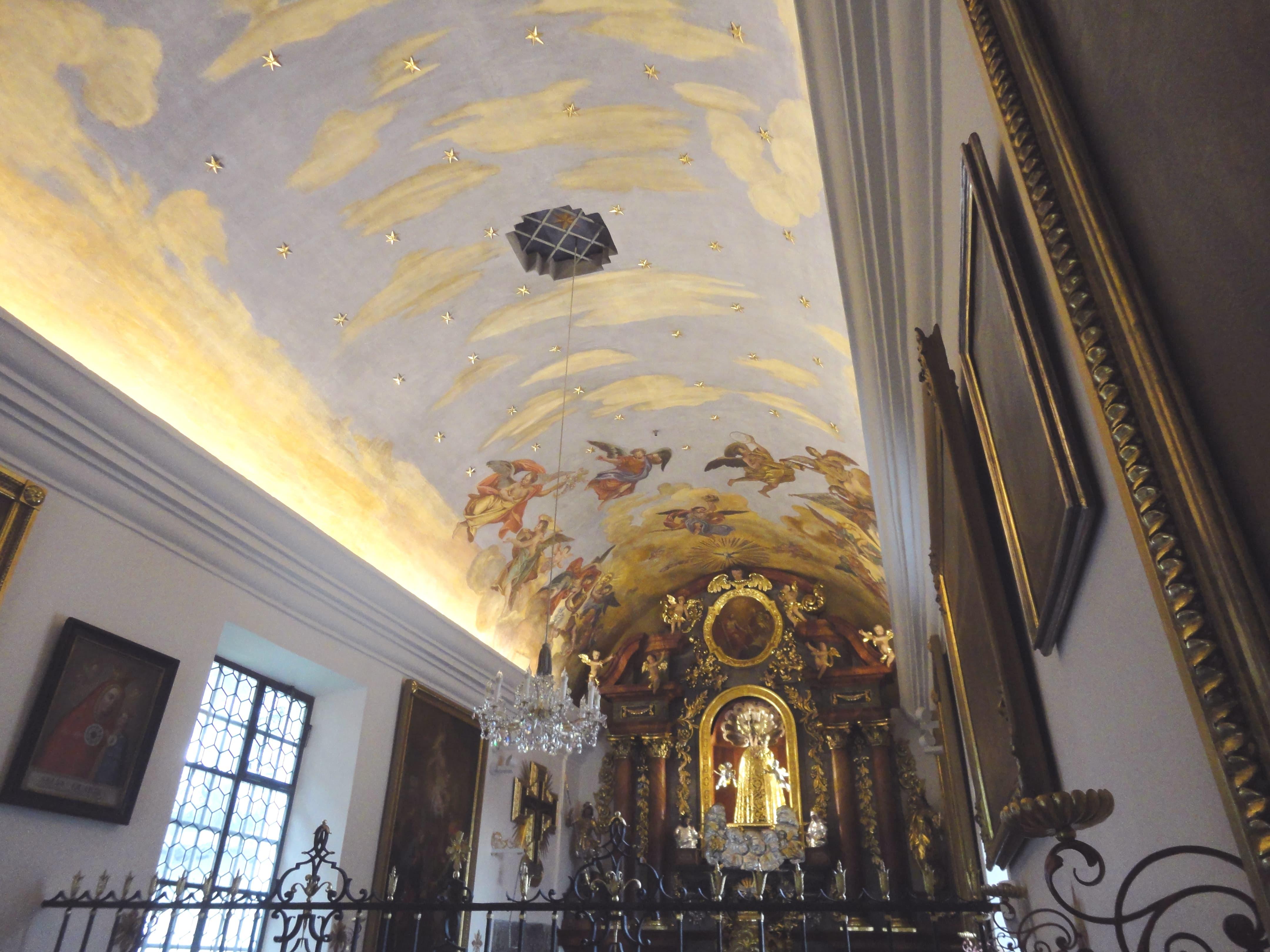 Loretokapelle und Benefiziatenhaus Innen