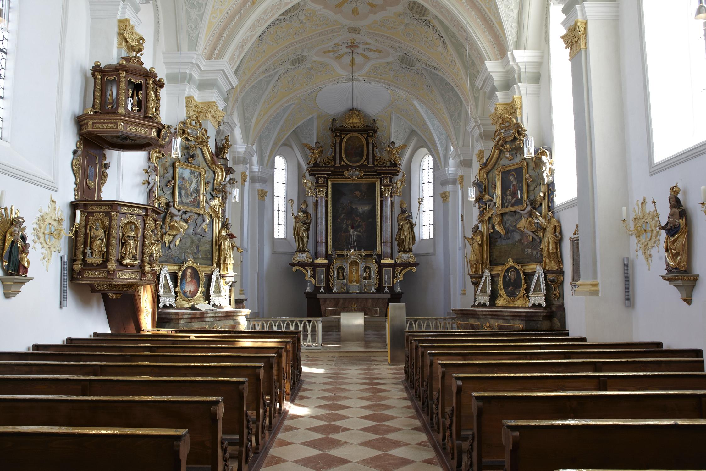 Pfarrkirche St. Emmeram Langhaus