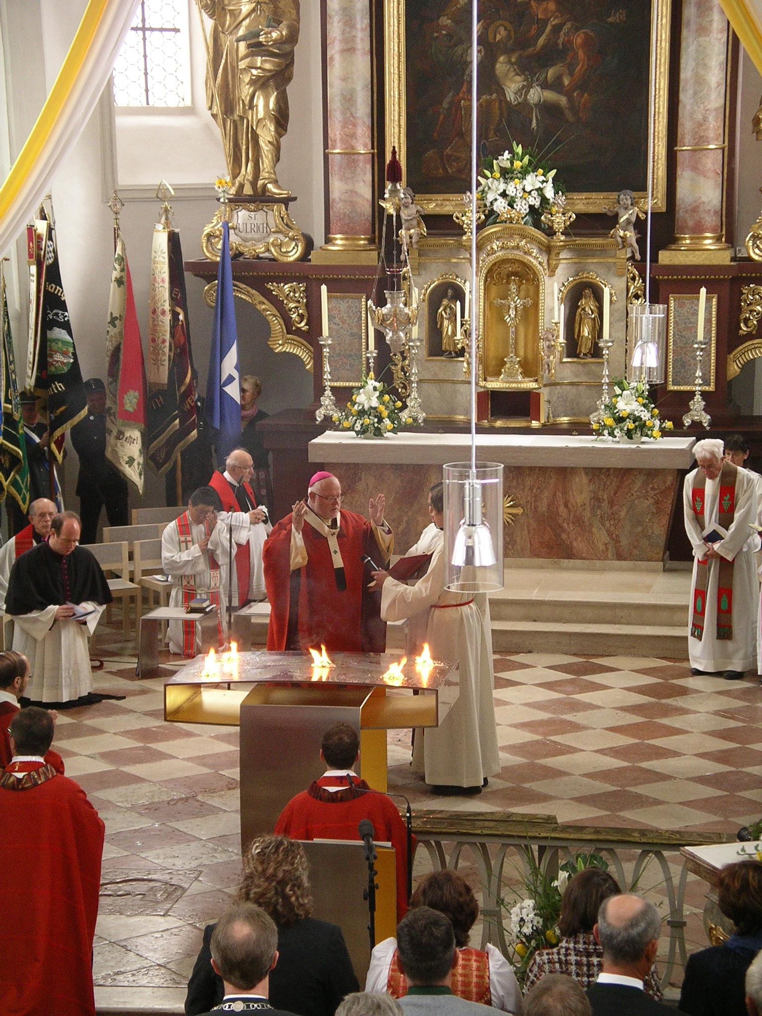 Pfarrkirche St. Emmeram Sakristei